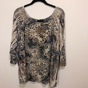 Investments II ladies top size XL